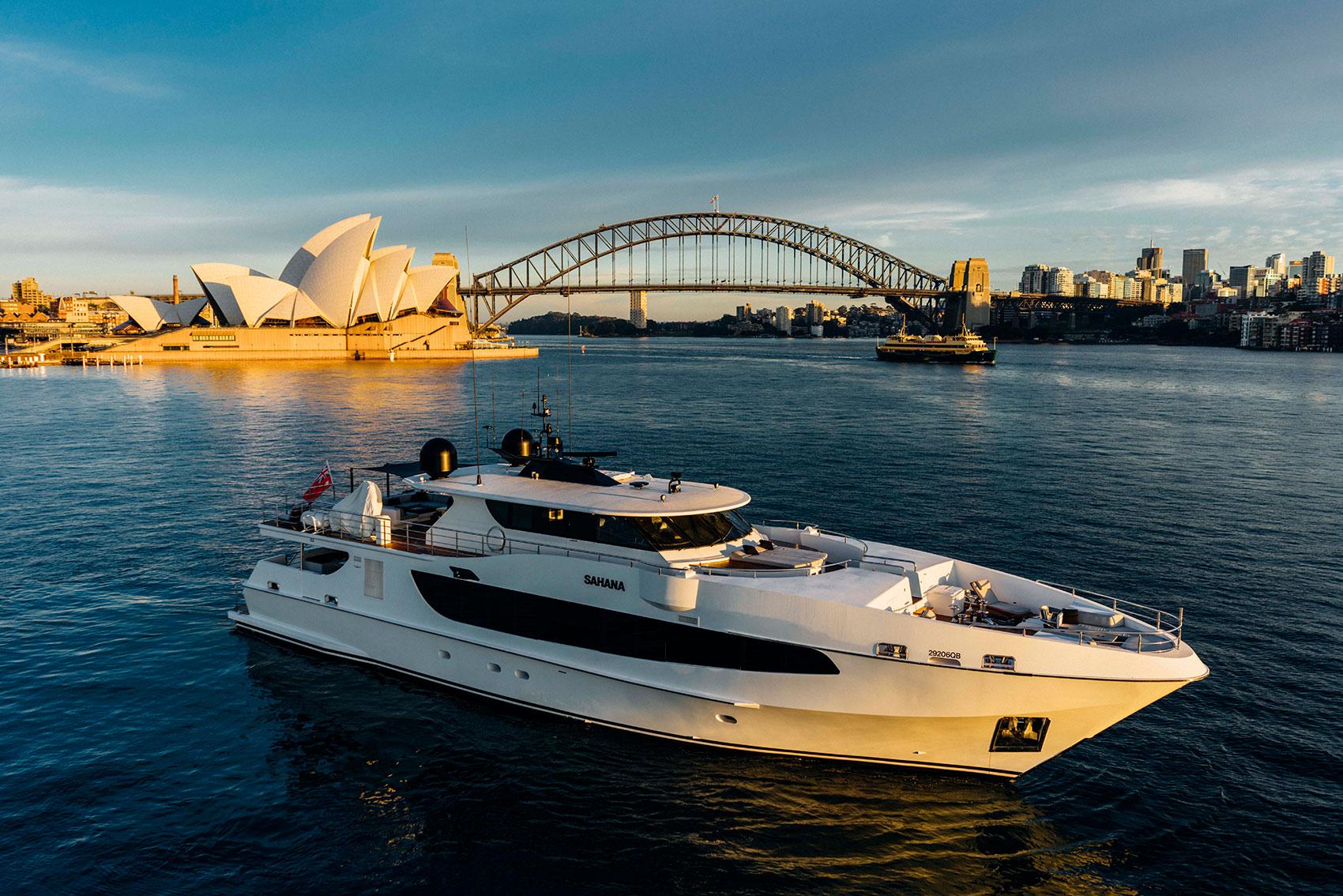 Sahaha charter Fraser Yachts Australia